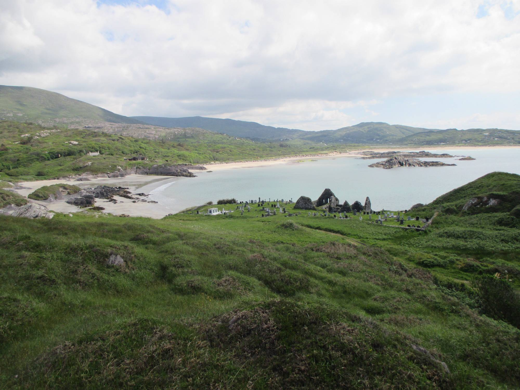 View From Abbey Island at Derrynane. DAHG.