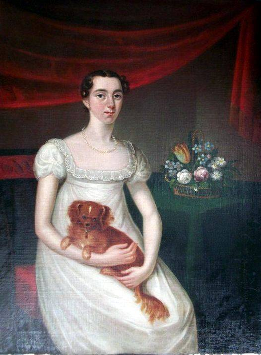 Catherine 'Kate' O'Connell by John Gubbins (fl 1820s). OPW